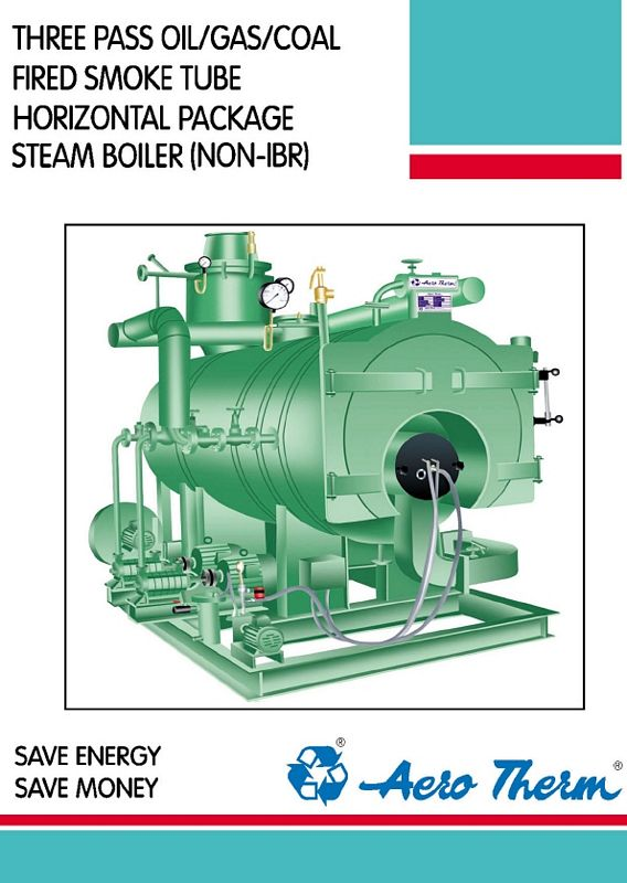 Smoke Tube Horizontal Package Steam Boiler (Non-IBR) : Thermic Fluid ...